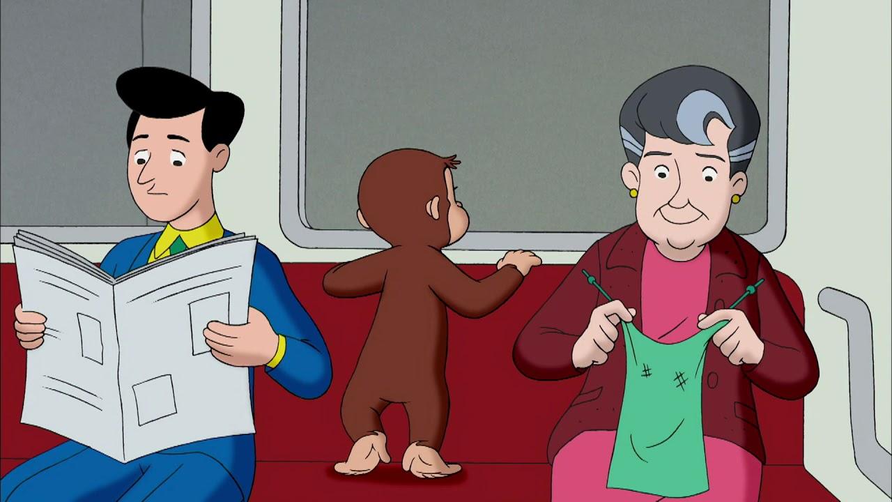 電車の中でジョージ 🐵 おさるのジョージ 🐵新しいクリップ