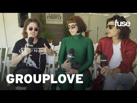 Inside The Chaotic Creation Of Grouplove's Big Mess | Firefly 2016 | Fuse