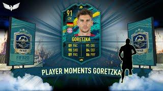 PLAYER MOMENTS GORETZKA SBC - Leon Goretzka SBC! - Player Moments - FIFA 20 Ultimate Team