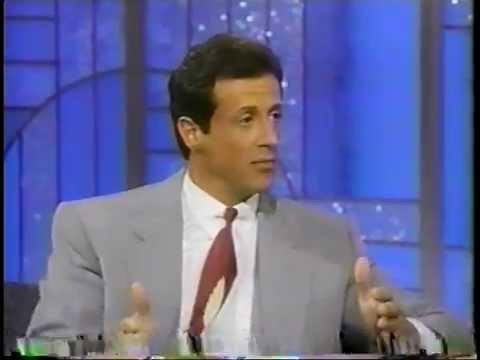 Sylvester Stallone @ The Arsenio Hall Show 1990