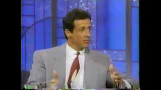 Sylvester Stallone @ The Arsenio Hall Show 1990