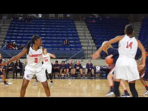 Women's Basketball Highlights vs  Liberty