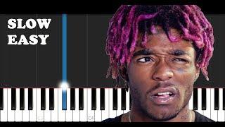 Lil Uzi Vert - Sanguine Paradise (SLOW EASY PIANO TUTORIAL)
