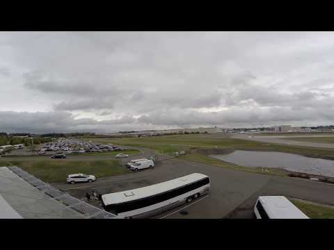 Raw video: The Boeing Factory, Everett