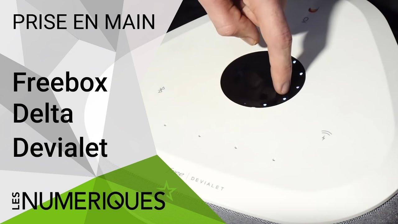 Prise En Main Audio De La Freebox Delta Devialet Youtube