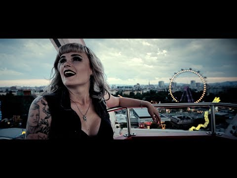 KITTY IN A CASKET - Cold Black Heart (Official Video)