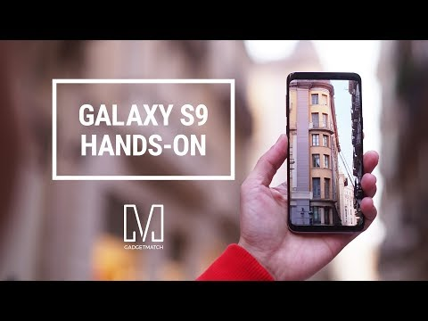Samsung Galaxy S9 and S9+ Hands-On: AR emoji and Super Slow-mo Demo