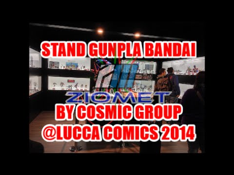Stand Gunpla Bandai by Cosmic Group @ Lucca Comics 2014