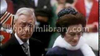 HRH The Duke of Windsor at the Queen Mary Memorial Unveiling, 1967