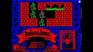 БК-0010, игра Indiana Jones (BK-0010, Indiana Jones)