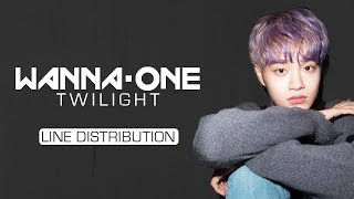 Wanna One 워너원 Twilight Line Distribution