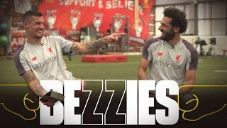 Bezzies with Salah & Lovren |