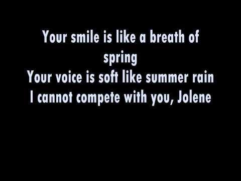 The White Stripes - Jolene *Live* [Lyrics]