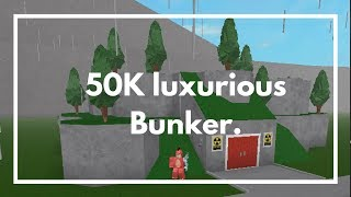 ROBLOX BLOXBURG | 100 SUBS SPECIAL | 50K LUXURIOUS FAMILY BUNKER