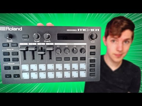 Roland MC-101 Beats and Initial Review