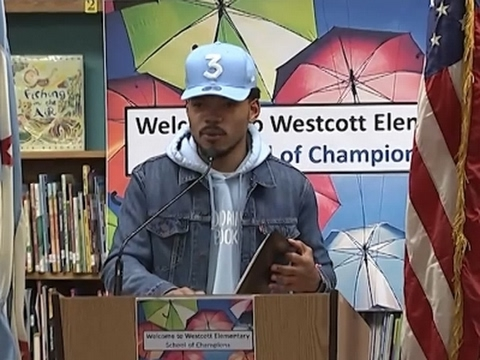 Chance the Rapper Gives $1M to Chicago Schools