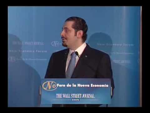 Foro de la Nueva Economía con Saad Hariri
