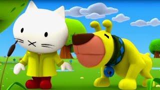 Мультфильмы про котенка - Котёнок Мусти - обучающие мультфильмы для самых маленьких