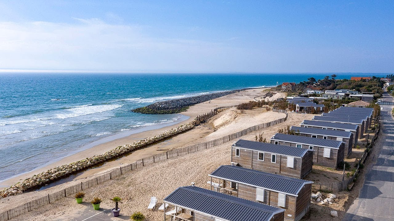 Camping Soulac Plage 4 Star Campsite In Soulac Sur Mer Gironde