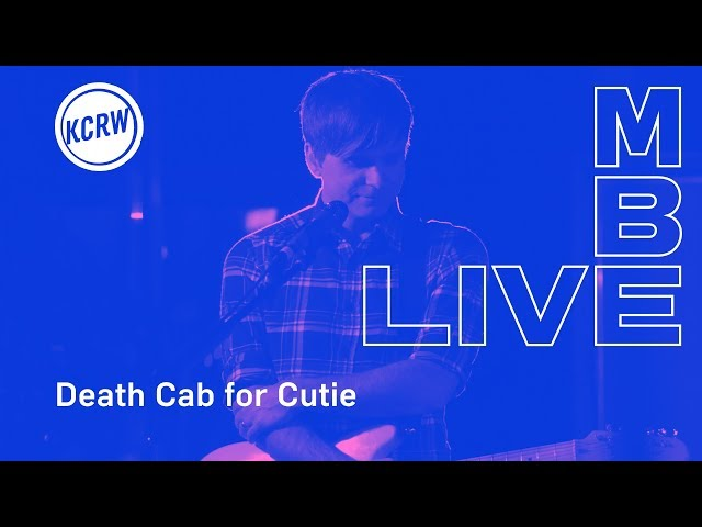 Death Cab for Cutie performing Autumn Love live on KCRW