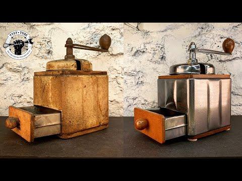 Rusted Coffee Grinder - Restoration