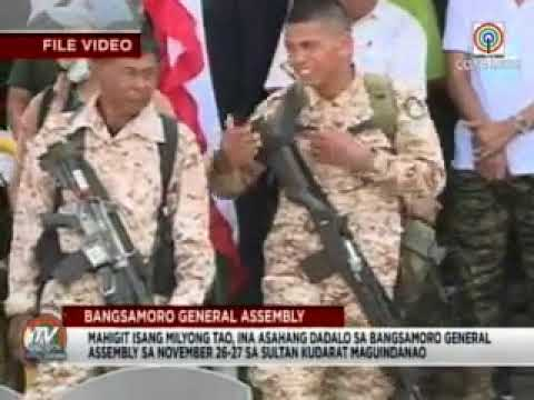 News on Bangsamoro Assembly