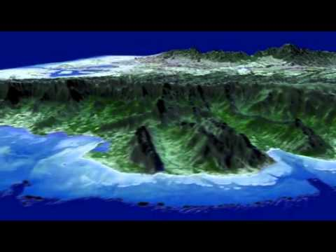 NASA Japan Release Improved Topographic Map Of Earth YouTube - Nasa topographic map