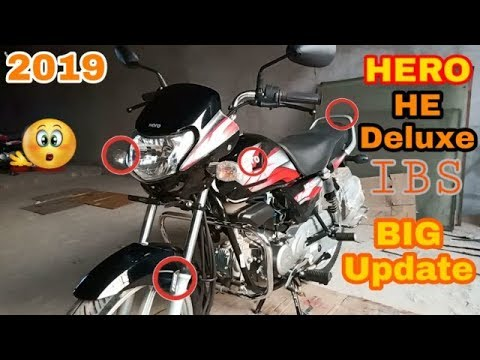 2019 Hero HF Deluxe|| IBS||.|| 3 new update||  Complete walkaround review.
