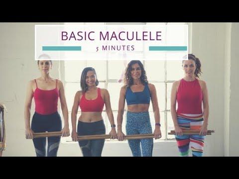 5 Minute Basic Brazilian Dance   Maculele   Brazilian Warrior Workout