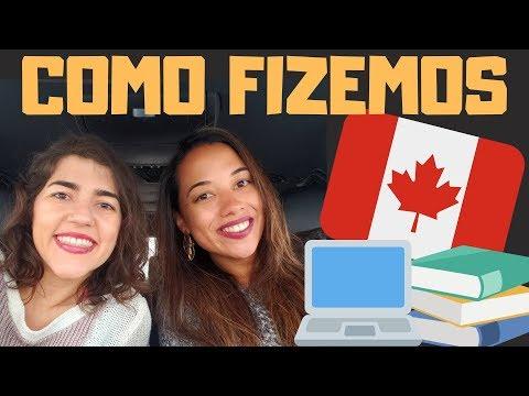 ESTUDAR E TRABALHAR NO CANADÁ   Vida No Canadá   Fer & Van