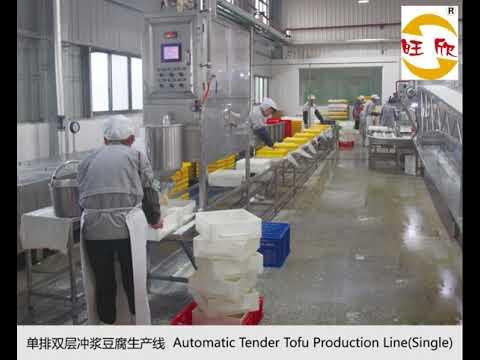 Tender Tofu Production Line