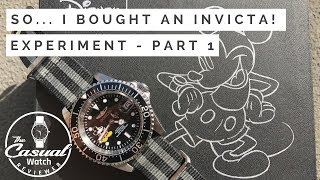 So I bought an Invicta...  Pro Diver First Impressions - Part 1