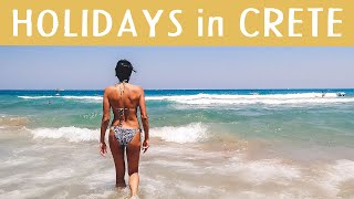 HOLIDAYS In CRETE / Sun Is Shining, The Weather Is Sweet @ Stalis Beach / Daily CRETE Greece