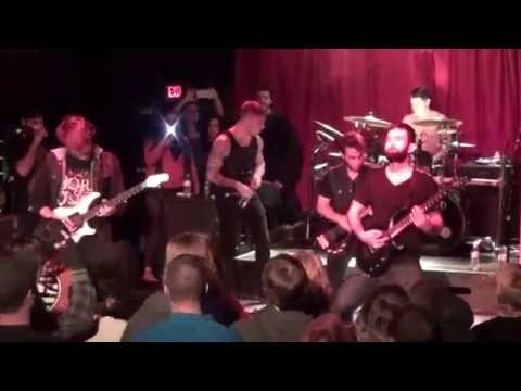 As Blood Runs Black - My Fears Have Become Phobias Live @ The Masquerade in ATL November 2014