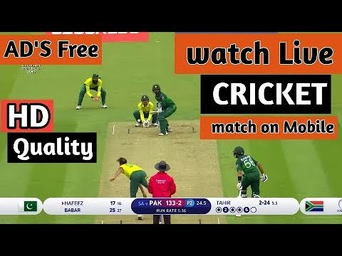 How To Watch Live Cricket Match On Mobile HD Quality