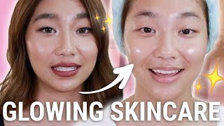 CURRENT GLASS SKIN CARE: Get Unready With Me (PAMPATULOG EDITION) | Raiza Contawi