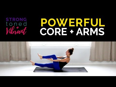 30 min Yoga Workout Powerful Core + Arms