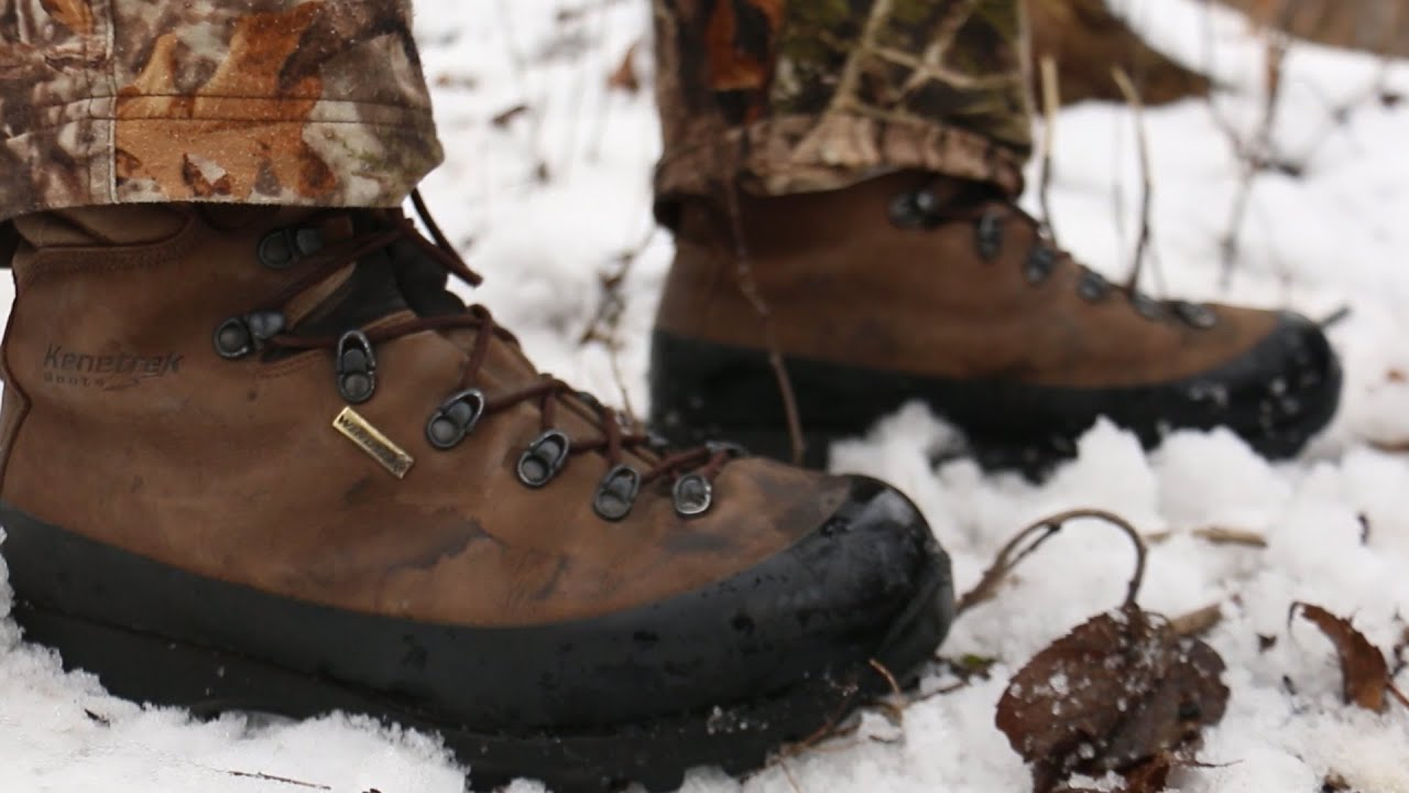 Review Kenetrek Mountain Extreme Hunting Boots Youtube