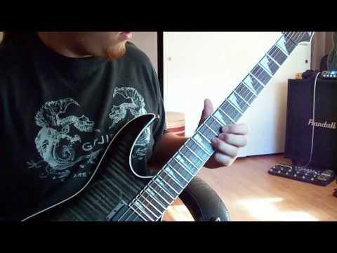 Veil of Maya - We Bow In It's Aura (Guitar Cover)