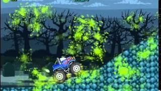 Бесплатные игры онлайн  Грузовик давит зомби, джипы гонка, машинки онлайн, игра для мальчиков