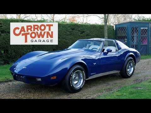 Video Review Of 1977 Chevrolet Corvette C3 For Sale Carrot Town Garage UK