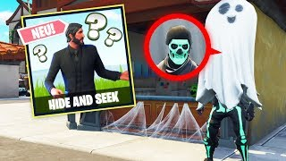 Das DÜMMSTE VERSTECK in Fortnite HIDE and SEEK!