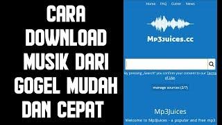 Download Cara download music paling mudah