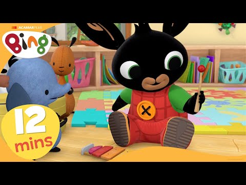 Music + More | Bing Stories Compilation | Cartoons For Kids | Bing Bunny