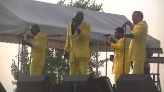 The Spinners-Cupid/Having a Party live in Waukesha, WI 7-20-14