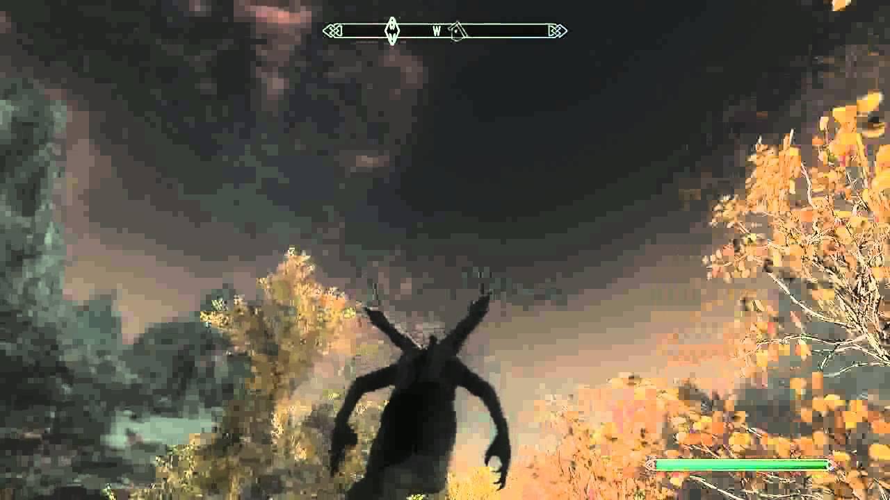 Skyrim Fully Flying Vampire Lord Alpha | FunnyCat TV