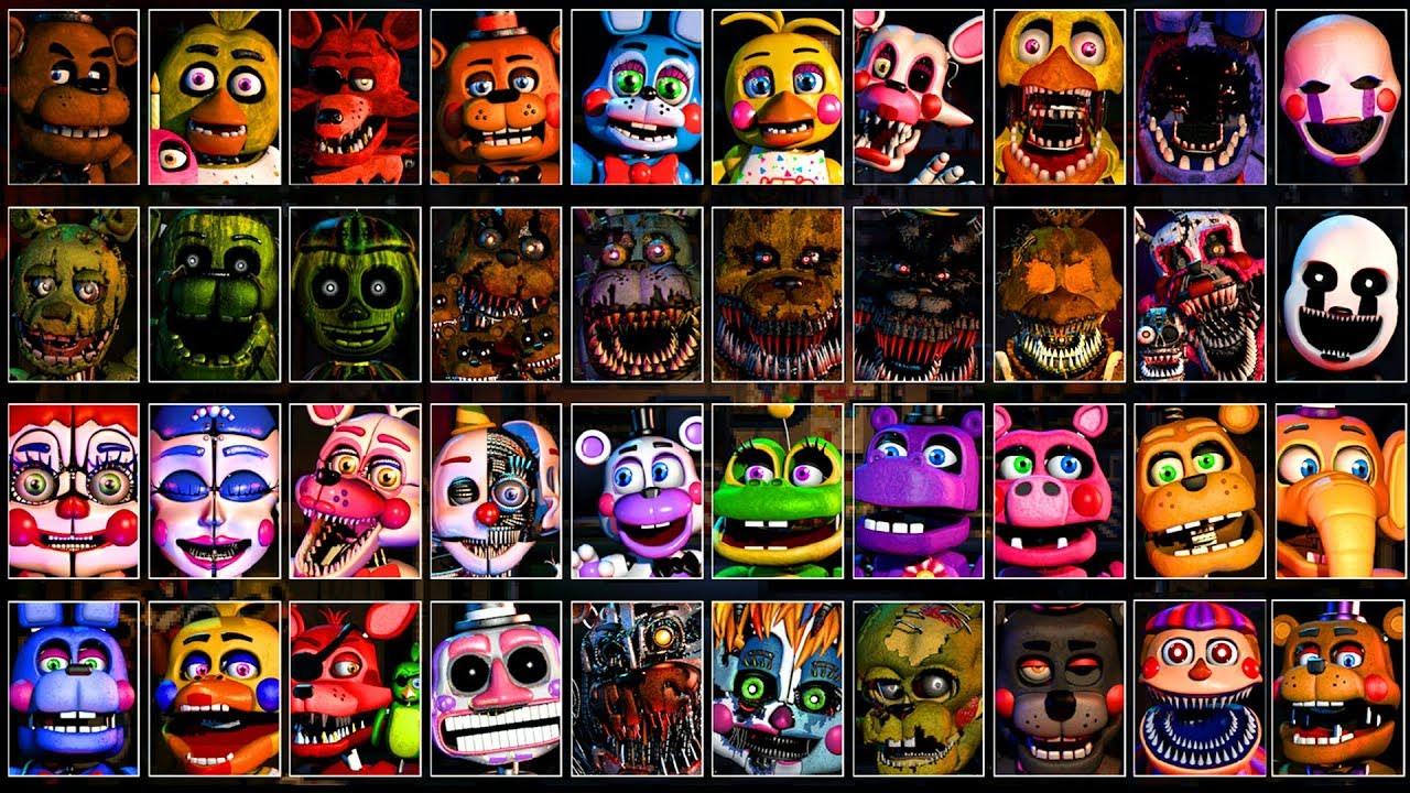 Five Nights at Freddy's - Ultimate Custom Night Jumpscare Simulator (ALL  FNAF UCN Jumpscares)