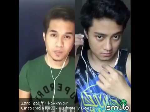 Cinta by Krisdayanti ft Melly Goeslow - Zaroll Zariff & Kay Khydir (Smule Malaysia)