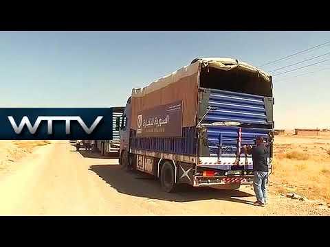 Syria: First humanitarian aid convoy reaches Deir ez-Zor