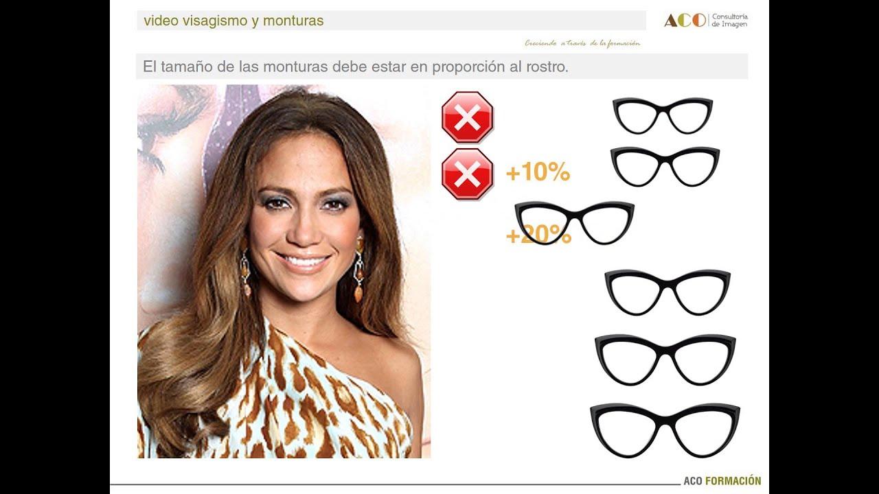 Cual es el tamaño ideal de las gafas? - YouTube